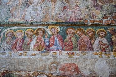Detail in St. Mary's Church, Malbork Castle, UNESCO World Heritage Site, Malbork, Poland, Europe