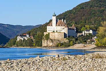 Castle Schloss Schoebuhel, Schoenbuehel-Aggsbach, Wachau, UNESCO World Heritage Site, Austria, Europe