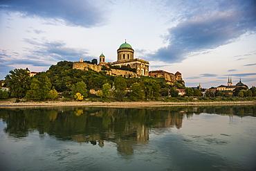 Esztergom Basilica, the largest cathedral in Hungary, Esztergom, Hungary, Europe
