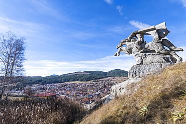 Monument to Georgi Benkovski, Koprivshtitsa, Bulgaria, Europe