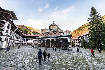 Church of the Nativity of the Virgin Mother , UNESCO World Heritage Site, Rila Monastery, Rila mountains, Bulgaria, Europe