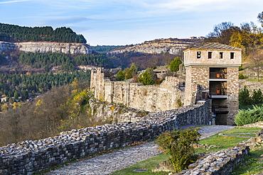 Castle Tsarevets, Veliko Tarnovo, Bulgaria, Europe