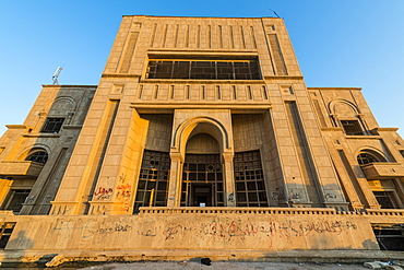 The summer palace of Saddam Hussein, Babylon, Iraq, Middle East