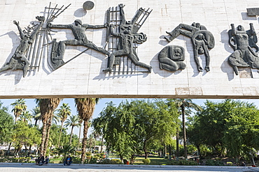 Freedom Monument,Tahrir square in Downtown, Baghdad, Iraq, Middle East