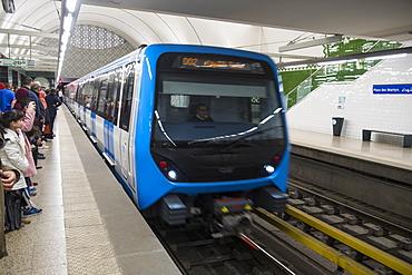 Metro of Algiers, Algeria, North Africa, Africa