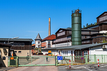 Unesco world heritage sight the mines of Rammelsberg, Goslar, Lower Saxony, Germany