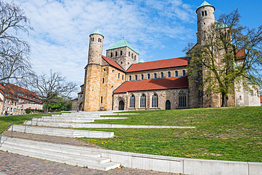 St. Michael's Church, Unesco world heritage sight Hildesheim, Lower Saxony, Germany