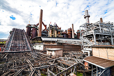 Unesco world heritage sight Voelklingen Ironworks, Saarland, Germany