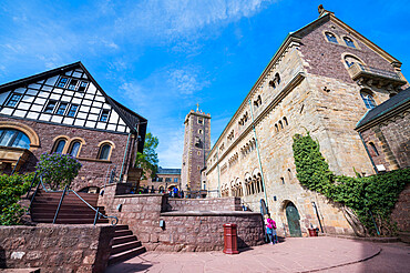 Unesco world heritage sight Wartburg castle, Thuringia, Germany