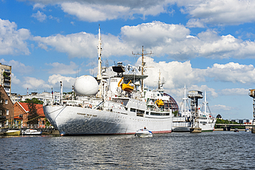 Exhibition ship in the World Ocean Museum, Kaliningrad, Russia, Europe