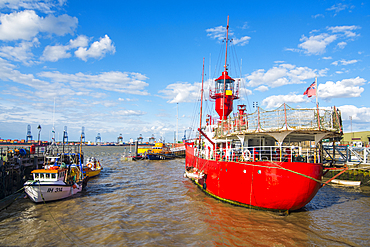 The harbour of Harwich, Essex, England, United Kingdom, Europe
