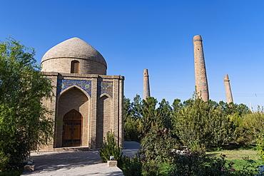 Musalla Minarets of Herat, Herat, Afghanistan, Asia