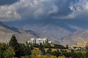 Paghman Hill Castle and gardens, Kabul, Afghanistan, Asia