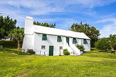 The carter house museum, St. David's island, Bermuda, North America