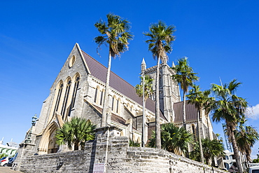 Bermuda anglican cathedral, Hamilton capital of, Bermuda, United Kingdom