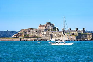 Elizabeth Castle, St. Helier, Jersey, Channel Islands, United Kingdom, Europe