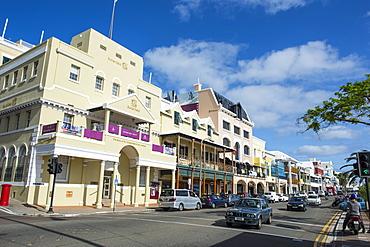 Historical seafront, Hamilton, Bermuda