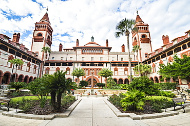 Flagler liberal arts college, St. Augustine, oldest continuously occupied European-established settlement, Florida, United States of America, North America