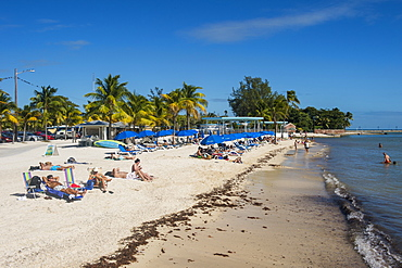 Higgs beach, Key West, Florida, United States of America, North America
