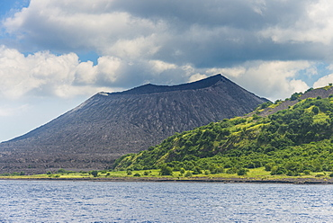 Volcano Tavurvur, Rabaul, East New Britain, Papua New Guinea, Pacific