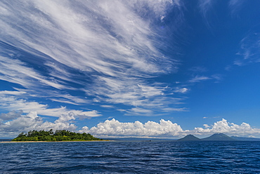 Little island off the coast of Rabaul, East New Britain, Papua New Guinea, Pacific