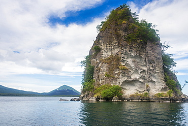 The Beehives (Dawapia Rocks) in Simpson Harbour, Rabaul, East New Britain, Papua New Guinea, Pacific