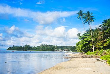 Beach in Kokopo, East New Britain, Papua New Guinea, Pacific