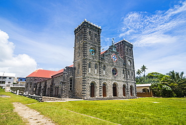 Cathedral of Our Lady of the Assumption, Mata-Utu, Wallis, Wallis and Futuna, South Pacific, Pacific