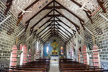 Bishop seat and church, Wallis, Wallis and Futuna, South Pacific, Pacific