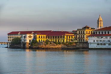 Skyline of Casco Viejo, UNESCO World Heritage Site, Panama City, Panama, Central America