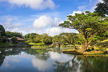 Shikinaen Garden (Shikina-en Garden), UNESCO World Heritage Site, Naha, Okinawa, Japan, Asia