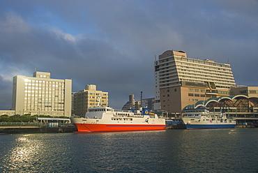 The Harbour area of Naha, Okinawa, Japan, Asia