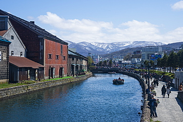 Otaru canal, Otaru, Hokkaido, Japan, Asia