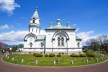 Hakodate Russian Orthodox Church, Motomachi district, Hakodate, Hokkaido, Japan, Asia