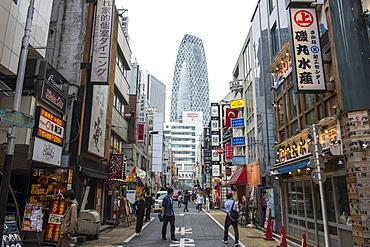 High rise bulidings in Shinjuku, Tokyo, Japan, Asia