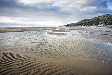 Barmouth Beach, Barmouth, Gwynedd, North Wales, Wales, United Kingdom, Europe