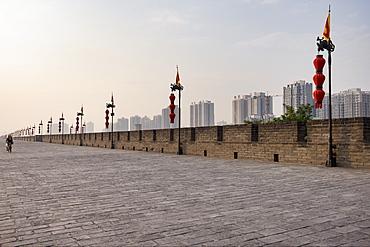City Wall, Xian, China, Asia