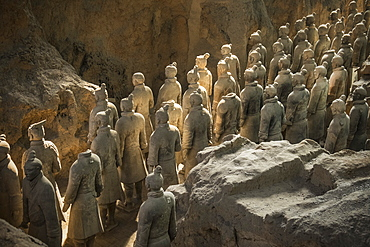 Warriors, Terracotta Army, UNESCO World Heritage Site, Xian, Shaanxi, China, Asia