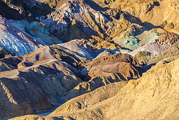 Painted Desert, Death Valley National Park, California, United States of America, North America