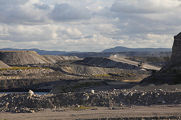 Open cast coal mine in New South Wales, Australia, Pacific