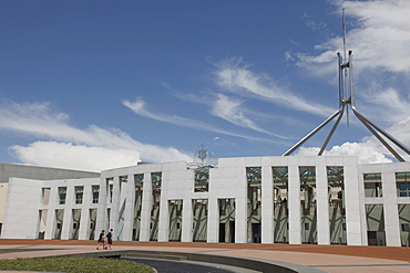 New Parliament building in Canberra, A.C.T., Australia, Pacific