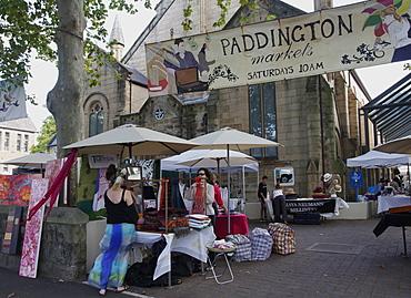 Paddington art and antique market, Sydney, New South Wales, Australia, Pacific