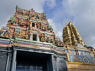 Hindu temple in the Ancient Cities near Kandy, Sri Lanka, Asia