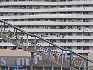 HDB (Housing and Development Board) social housing in Singapore, Southeast Asia, Asia