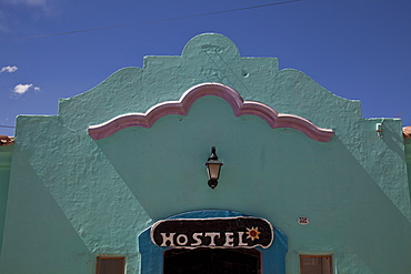 Hostel in Humahuaca in Jujuy province in the Andes region of Argentina, South America