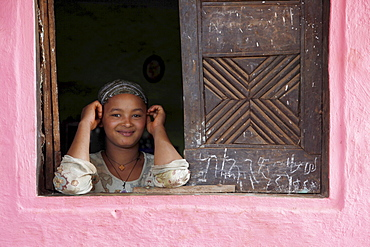 Young woman in the Masha area of Ethiopia, Africa