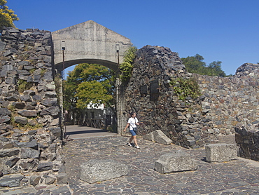 The old colonial town of Colonia in Uruguay, South America