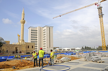 Reconstruction of Downtown Beirut by Solidere Consortium set up by late Rafik Hariri, Beirut, Lebanon, Middle East