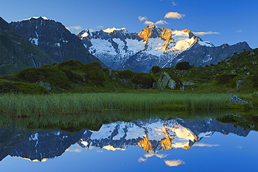 Wannenhorn, Valais, Swiss Alps, Switzerland, Europe - 1189-57