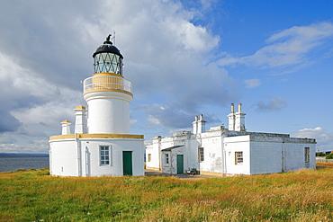 Chanonry Point lighthouse, Black Isle, Highland, Scotland, United Kingdom, Europe